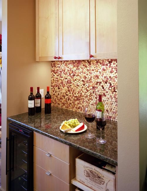 【Houzz】ワインと暮らすインテリア :ワイングッズをインテリアに生かす 7番目の画像