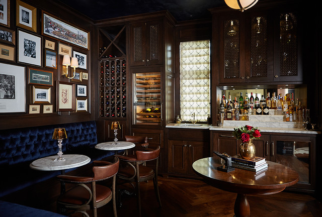 Cosmopolitan Home Magazine 2015 Home Of The Year Traditional Home Bar