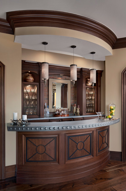 Cranbrook Custom Homes | Luxury Home Architecture Transitional Home Bar