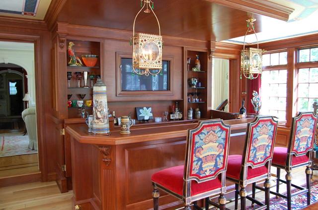 Custom Home Bar - Traditional - Home Bar - Philadelphia - by DAVID ...
