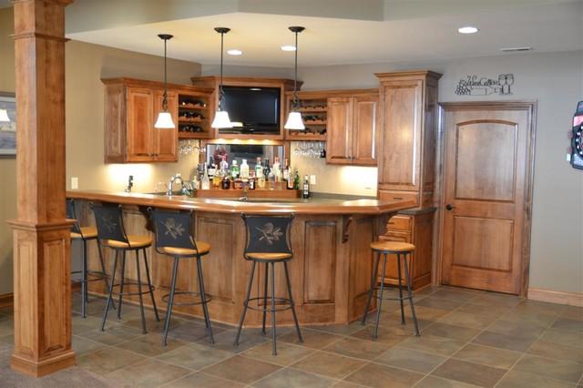 Dayton Model traditional-family-room