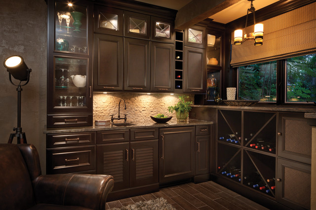 Destined To Be A Classic Traditional Home Bar Denver By Dura Supreme Cabinetry