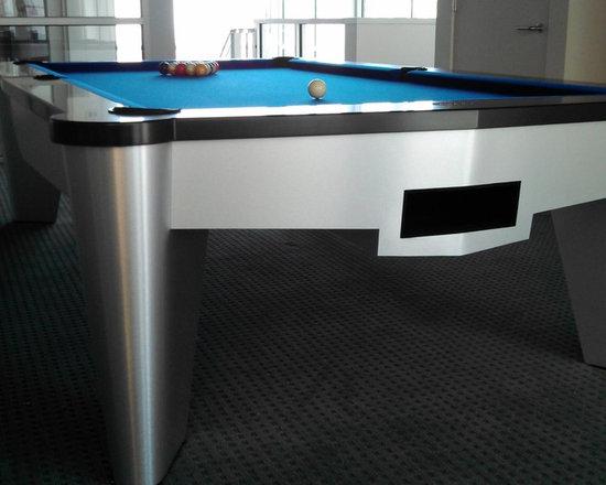 EXCALIBUR Pool Table - EXCALIBUR Pool Table by MITCHELL   Exclusive Billiard Designs  