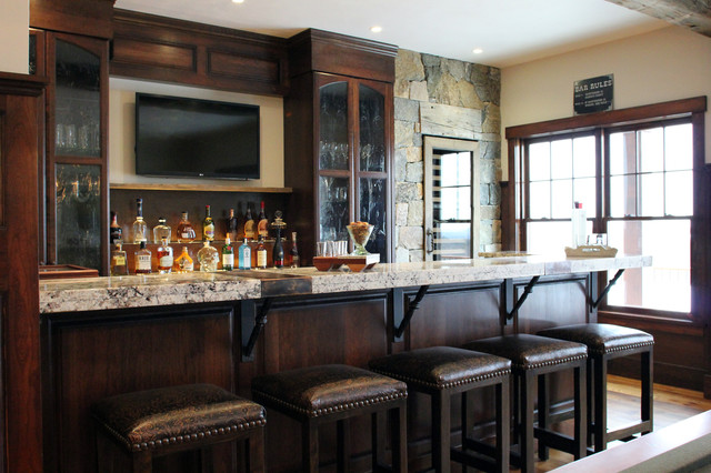Expansive Country Home For Entertaining In Rustic Luxuryrustic Bar Manchester
