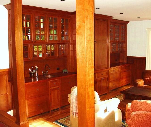 Home Bar Construction: Finishing Details