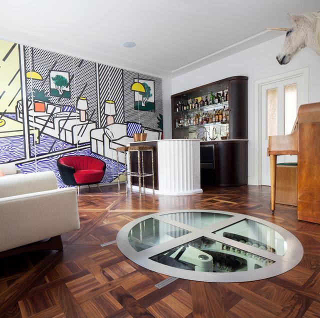 Floor Panels & Parquet Designs