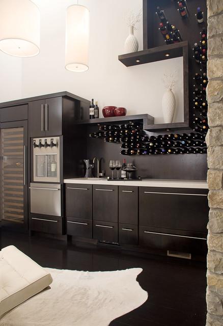 Fox Chapel Wine Bar contemporary-home-bar