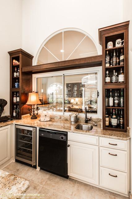 Freund (Zelmar) Home Remodel traditional-wine-cellar