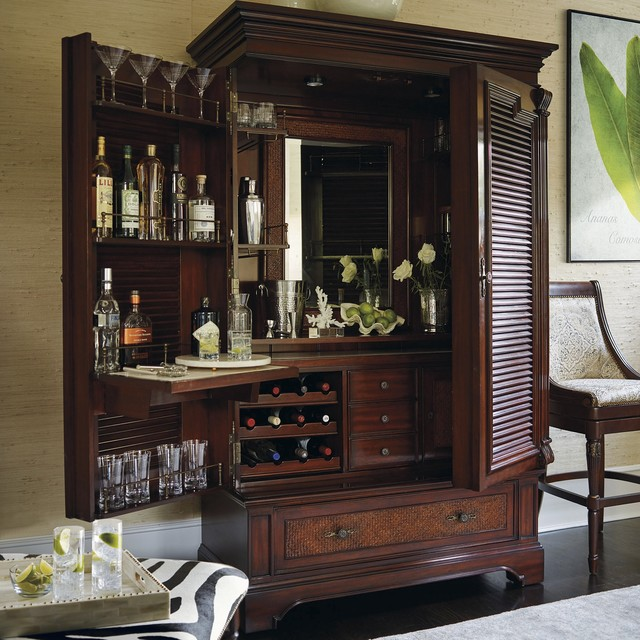 Frontgate Interiors 2016 Traditional Home Bar By Frontgate