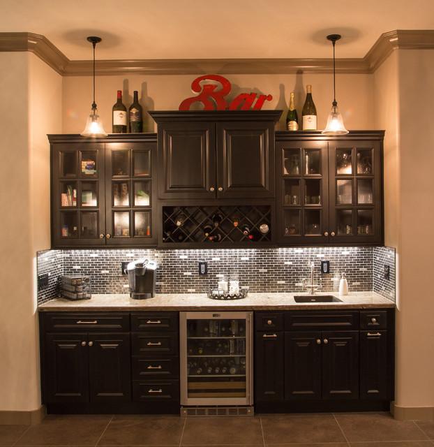 ... AZ - Modern - Home Bar - phoenix - by Todd Whittaker Drywall Inc