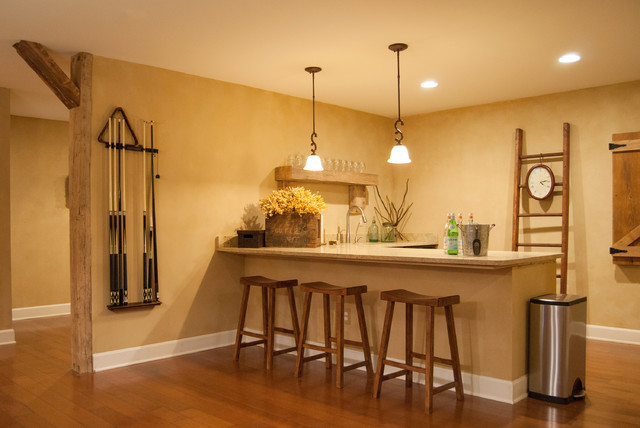 simple basement bar ideas ohio farmhouse home bar