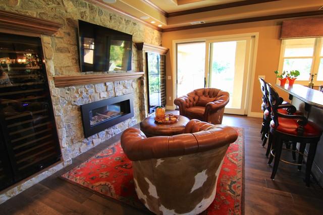 Gibson Country Home Bar Sacramento By Doran Designs