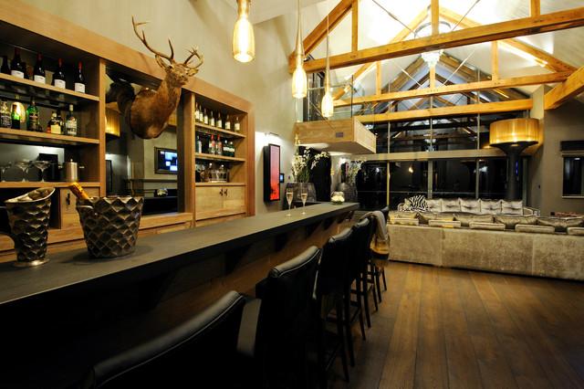 Gleneagles Private residence - Contemporain - Bar de Salon ...
