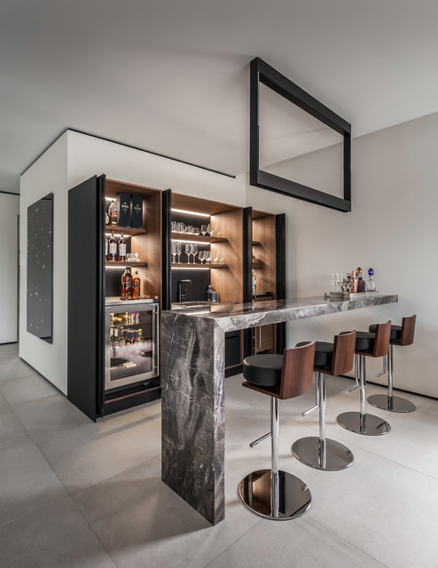 Golden Isles Residence 1 - Contemporary - Home Bar - Miami - by 2id ...