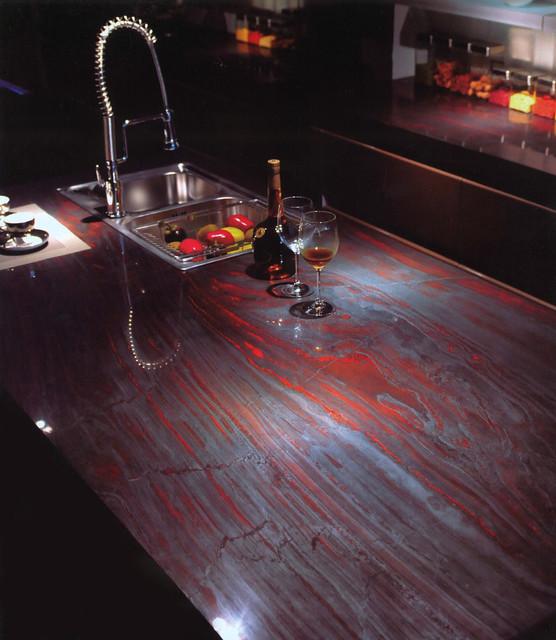 Red Quartz Kitchen Countertop: Granite Quartzite Marble Quartz Countertops