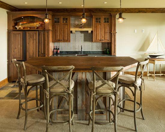 galvanized metal backsplash home design photos