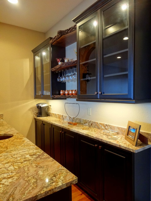 Headwaters Wet Bar Rustic Home Bar Charlotte By High Country Cabinets Of Banner Elk