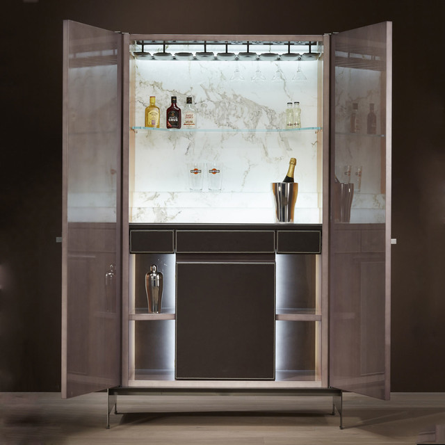 Modern Home Bar Cabinet: Him Bar Cabinet