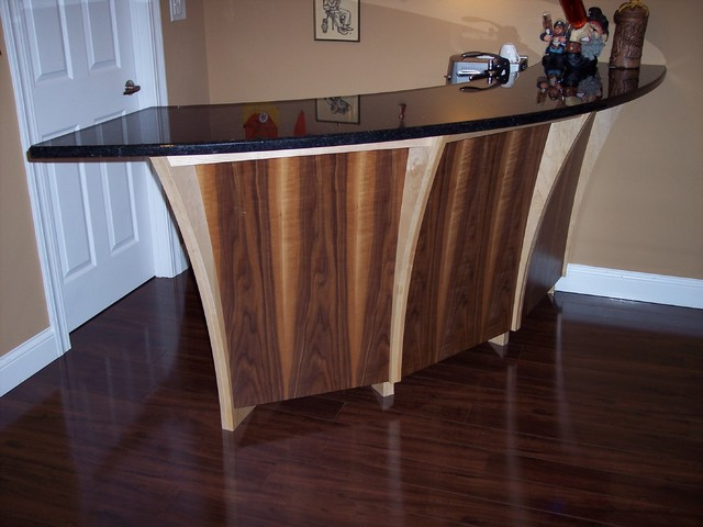 Home Mini Bar Moderne Bar De Salon Chicago Par Unimode Woodworking Design