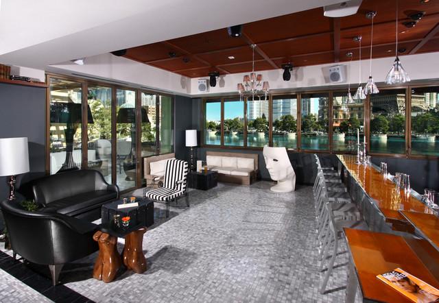 Hyde cocktail lounge at bellagio hotel casino for Closet doors las vegas