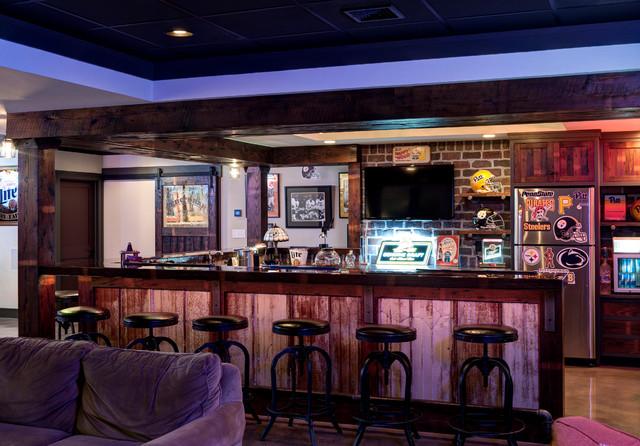 Industrial home bar industriale angolo bar altro for Ristrutturare bancone bar