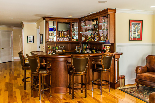 Interior Photos Traditional Home Bar Richmond By Anthony