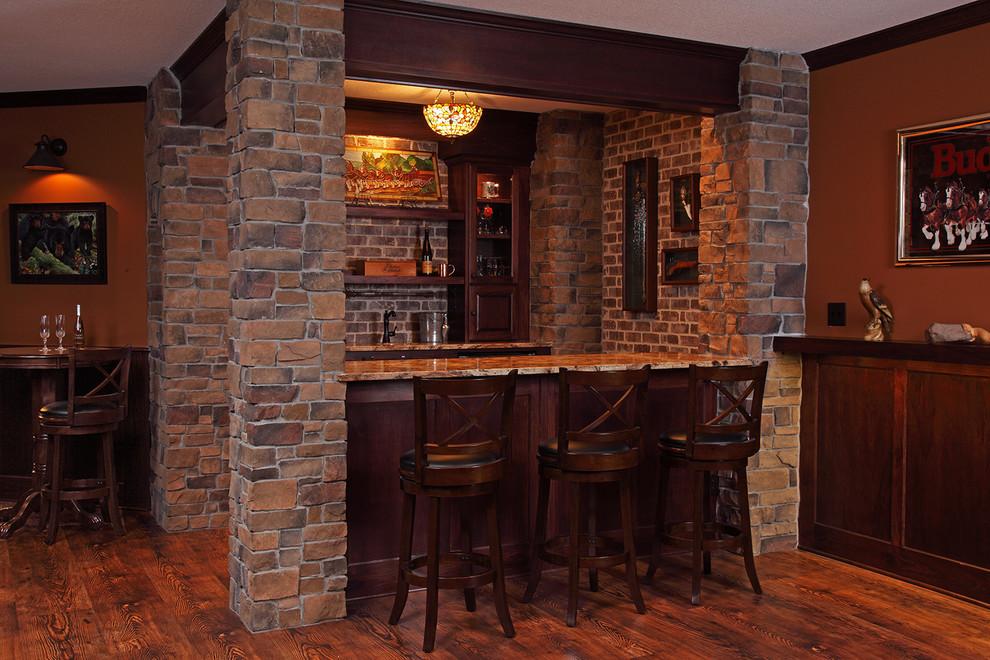 Irish Pub Style Basement Finish, Pub Style Basement