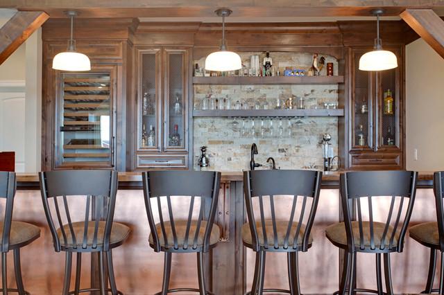 jaskela carstairs alberta rustic home bar calgary