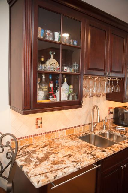 Kitchen Addition Built To Entertain traditional-kitchen