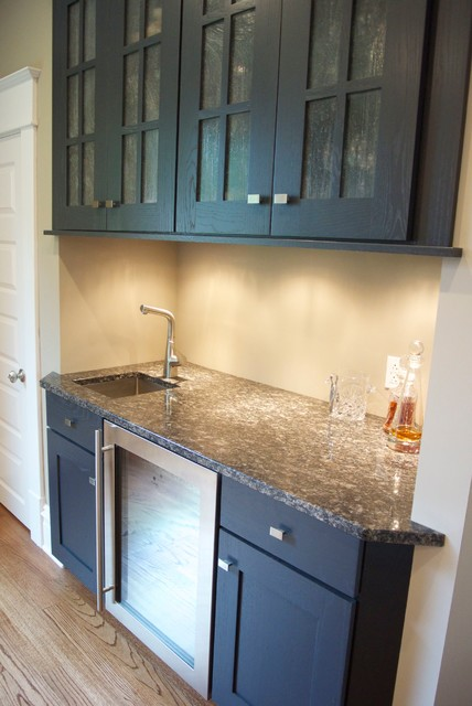 Kitchen With Big Island Transitional Home Bar Other By Cabinet World Pittsburgh