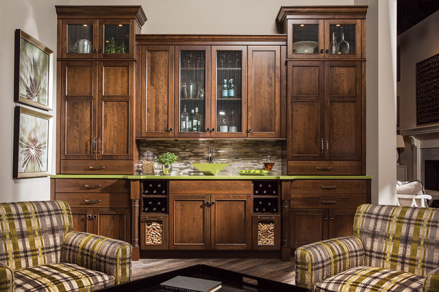 Limelight Wet Bar traditional-home-bar