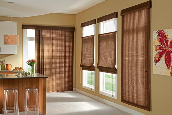 LIVING ROOM Window Treatments Modern Home Bar