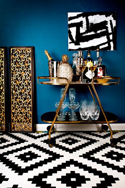 Lustre living contemporain bar de salon surrey par for Lustre contemporain salon