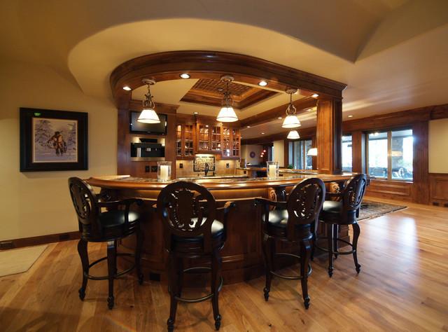 Luxury Custom Bars By Timber Ridge Properties Home Bar