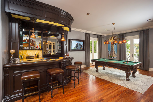 Luxury family home transitional home bar new york for American family homes inc