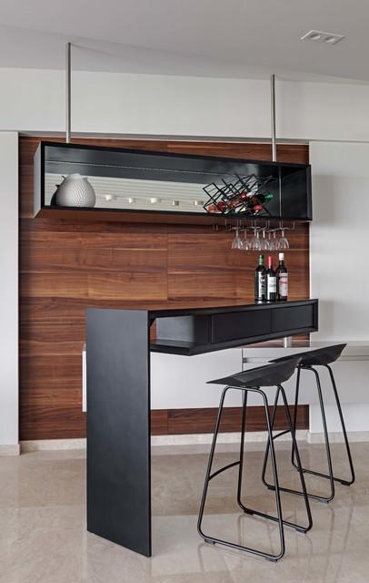 M Home contemporary-home-bar