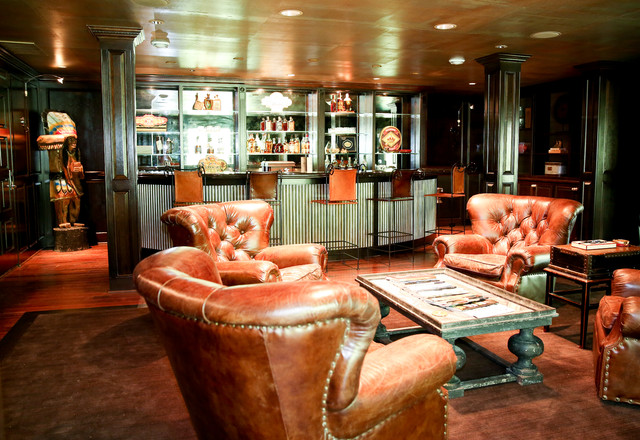 Pleasing Man Cave Cigar Bar Transitional Home Bar Download Free Architecture Designs Scobabritishbridgeorg