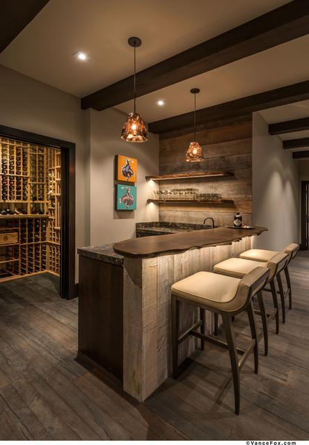 martis camp lot 37 montagne bar de salon other metro. Black Bedroom Furniture Sets. Home Design Ideas