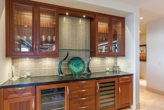 Maui project tropical home bar wichita by ovation cabinetry Home bar furniture wichita ks