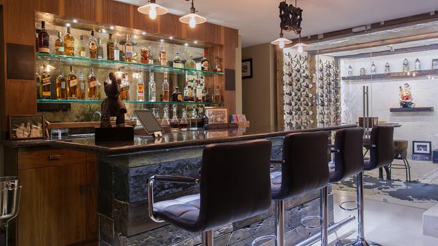 mexico city home klassisch modern hausbar mexiko. Black Bedroom Furniture Sets. Home Design Ideas