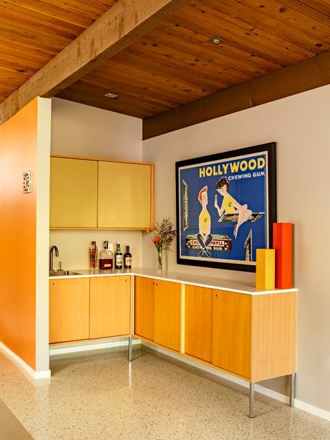 Mid Century Portland - Midcentury - Home Bar - Portland - by risa ...