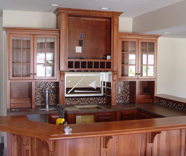 Home Bar Design Ideas Houzz: Kansas City