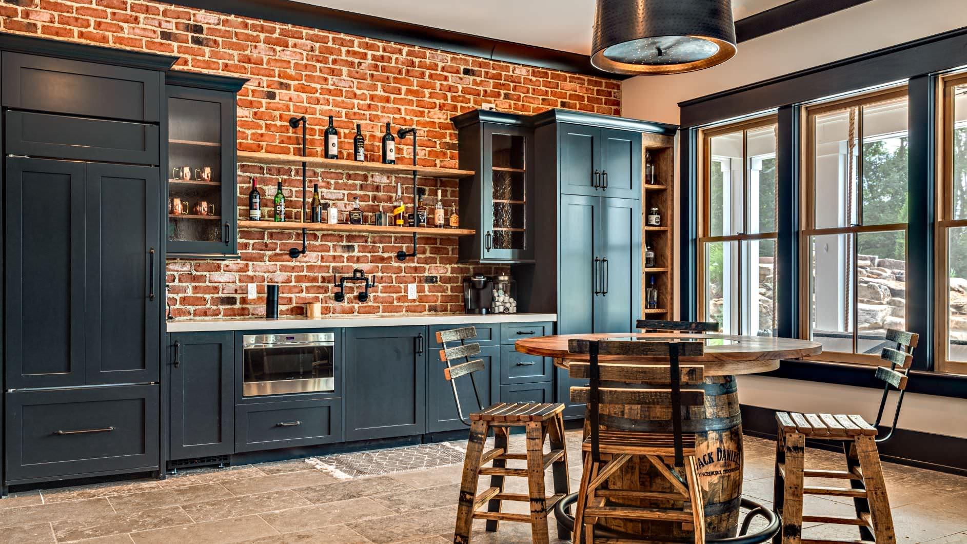 75 Beautiful Farmhouse Home Bar Pictures Ideas February 2021 Houzz