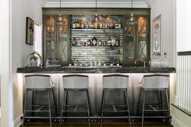 Modern Rustic Bar Home