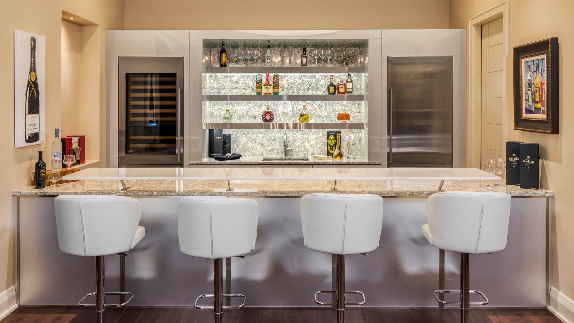 Modern Wet Bar