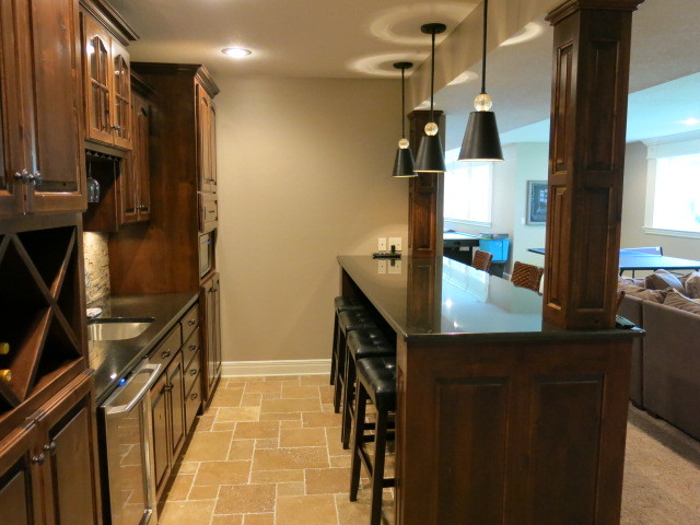 mr and mrs t basement kansas city by johnson county remodeling