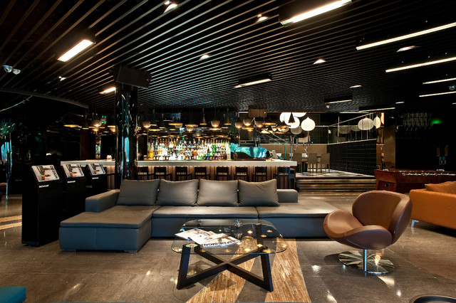 Muse vip lounge boconcept contract - Moderne loungebar ...