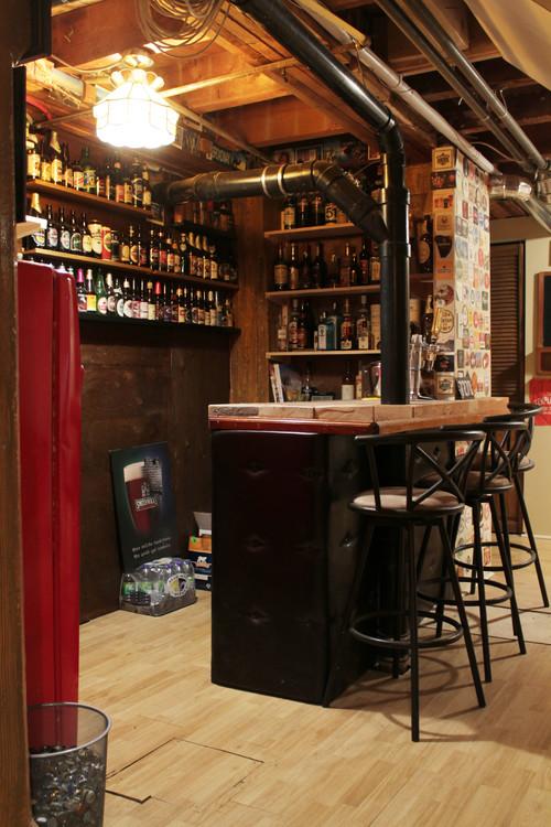 【Houzz】「家飲み」を楽しく! クラフトビールをインテリアに取り入れよう 11番目の画像