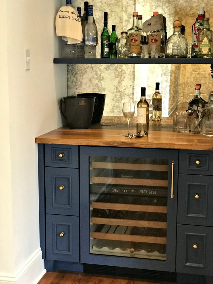 New Hope, PA - Kitchen Remodel - Transitional - Home Bar ...