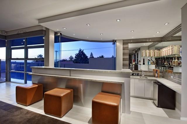 North Beach Modern Home Bar Perth By Seacrest Homes